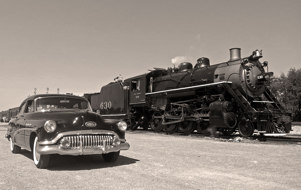 "1952 Buick ""Jack"" with Southern Railway 630"