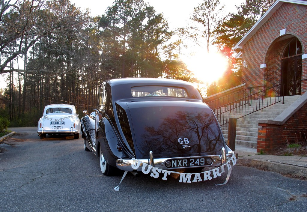 """Just Married"", featuring 1951 Rolls-Royce Limousine ""Catherine"""